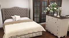 Victoria Tufted Bed (180 x 200)